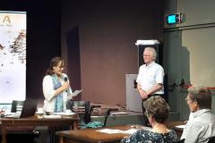 Speech voor Frans Lucas door Caroline ter Ellen